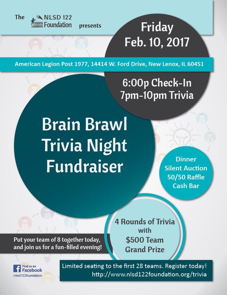 Brain Brawl 2017 Flyer